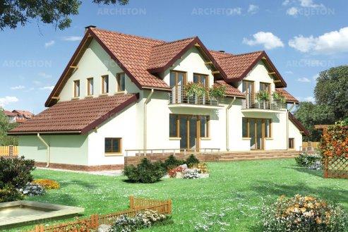 Проект дома Краб Дуо