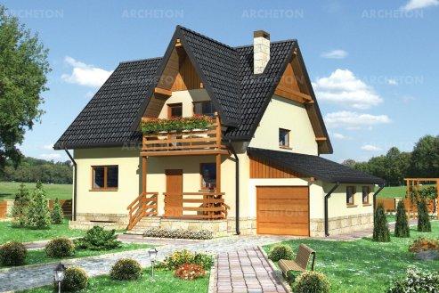 Проект дома Леонардо - 2