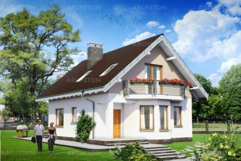 Проект дома Крошка