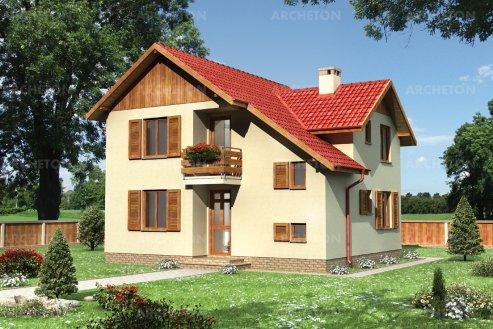 Проект дома Кротон