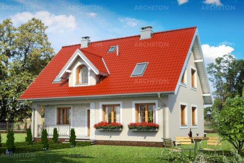 Проект дома Кремень Бета