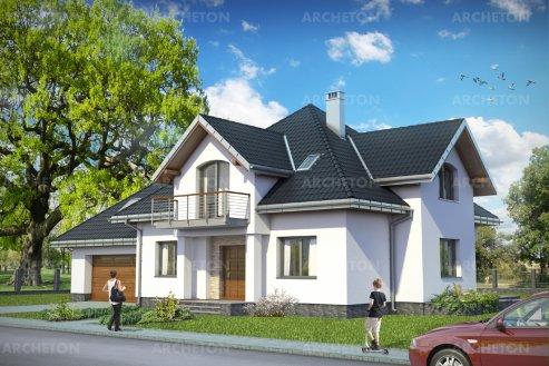 Проект дома Ксимена