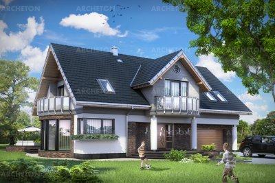 Проект дома Лазур