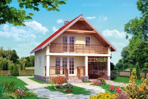 Проект дома Ландыш