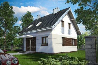 Проект дома Лиза