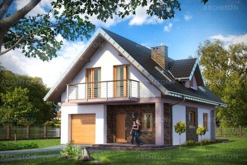 Проект дома Лебелия
