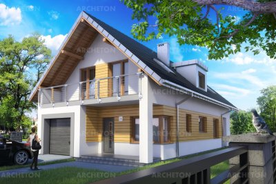 Проект дома Лорена