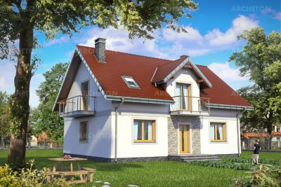 Проект дома Лоретта