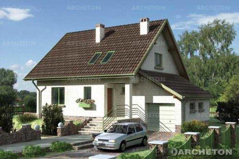 Проект дома Любисток