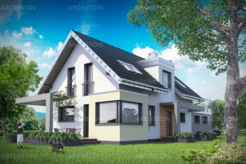 Проект дома Лютик
