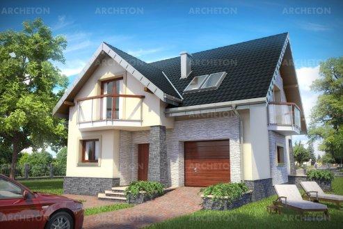 Проект дома Магнус