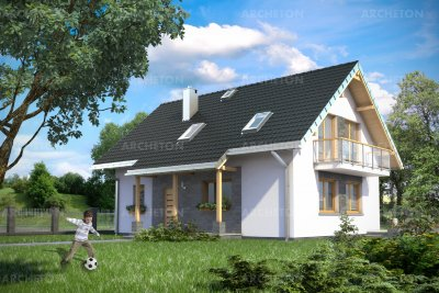 Проект дома Малахит