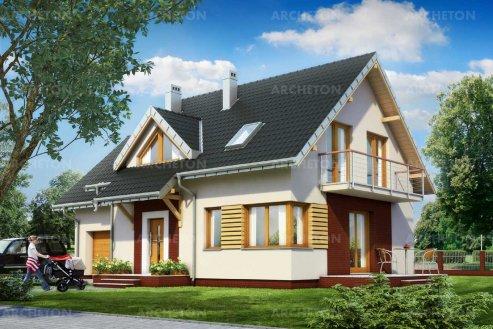 Проект дома Малина Нова