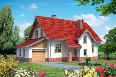 Проект дома Малина