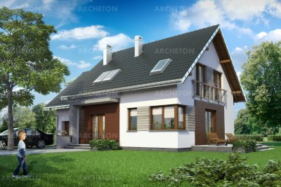 Проект дома Малина Альфа