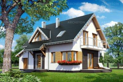 Проект дома Малина Бобо