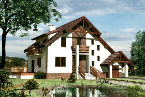 Проект дома Марианна