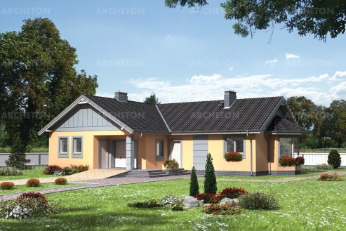 Проект дома Марика