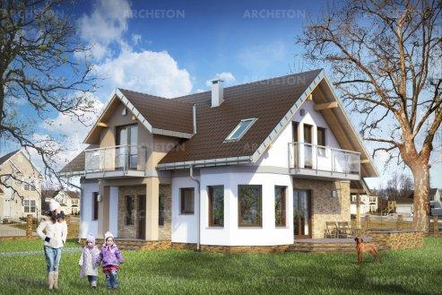Проект дома Марилла