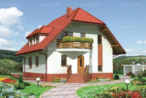 Проект дома Маркиза