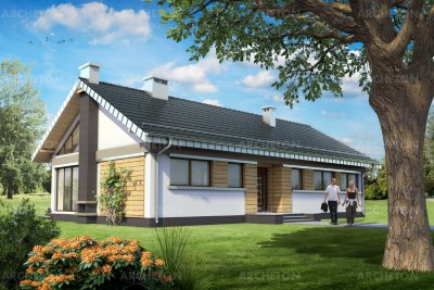 Проект дома Меля