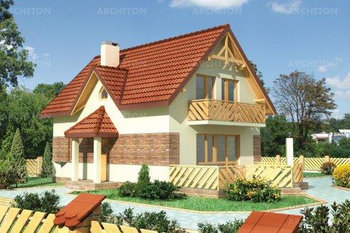 Проект дома Мини