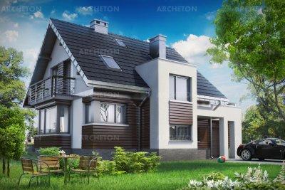 Проект дома Мирона