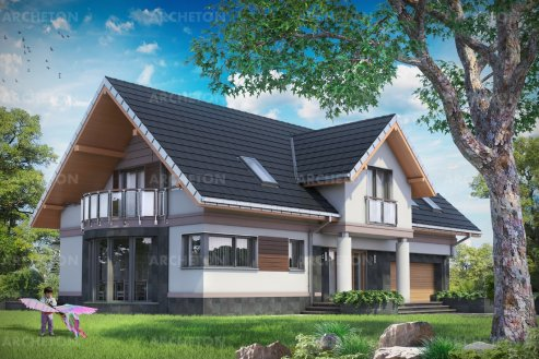 Проект дома Модеста