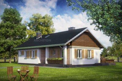 Проект дома Мудролюб 2 Эко