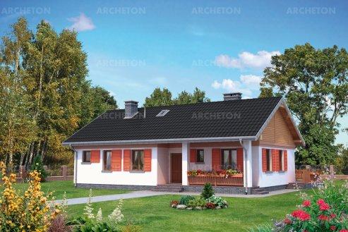 Проект дома Мудролюб Карбо