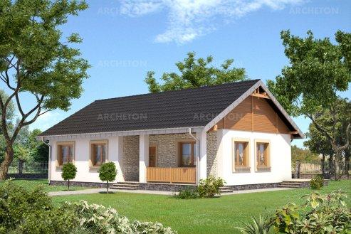 Проект дома Мудролюб Солис