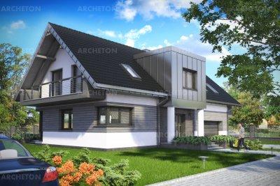 Проект дома Малина Сто