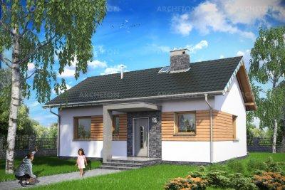 Проект дома Нугат