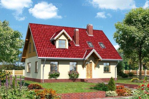 Проект дома Ольха
