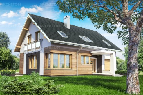 Проект дома Омега Дрон