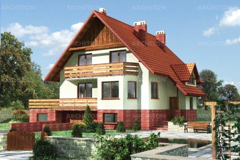 Проект дома Опал