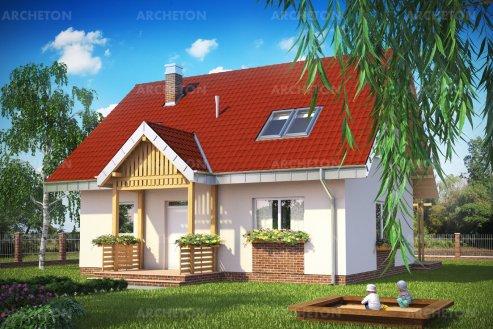Проект дома Почка