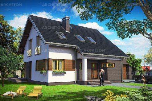 Проект дома Памеля
