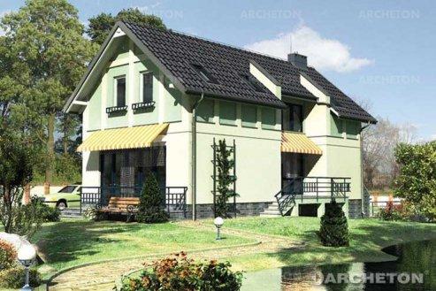 Проект дома Пистация
