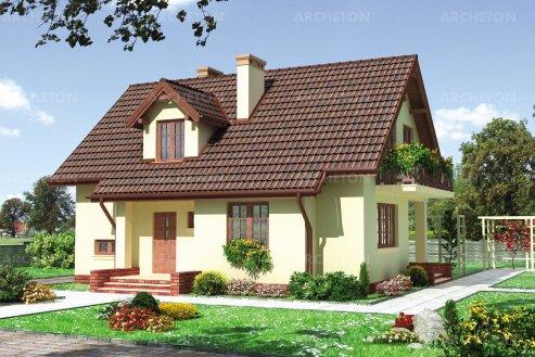 Проект дома Маковка Бета