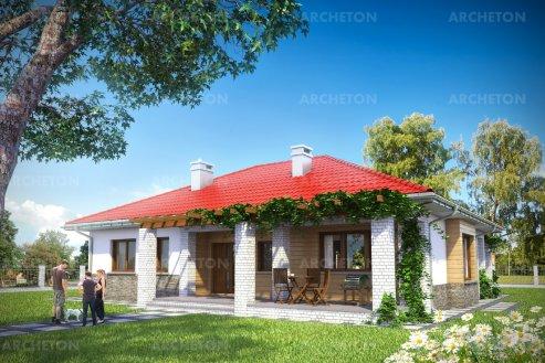Проект дома Регина