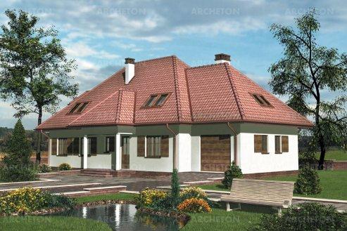 Проект дома Розмарин