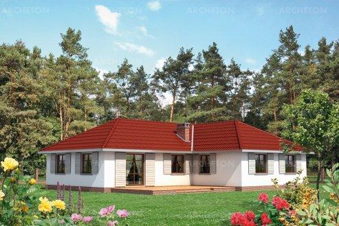 Проект дома Ромашка