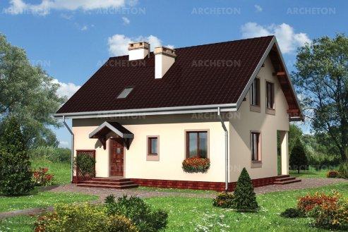 Проект дома Щука