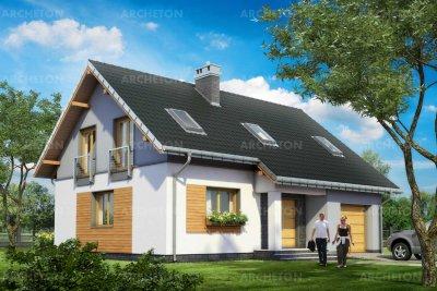 Проект дома Скрябик Нео