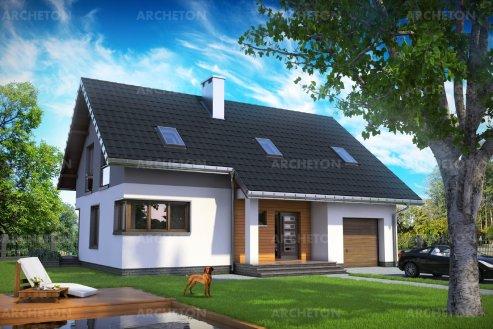Проект дома Скрябик Рекс