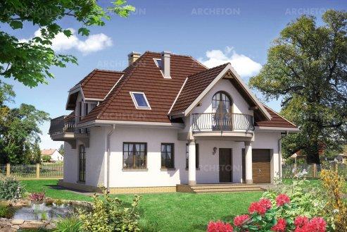Проект дома Гвоздика Энерго