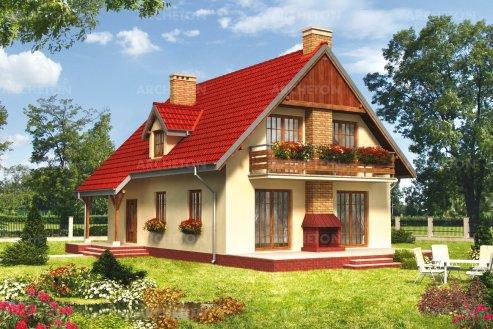 Проект дома Соловей
