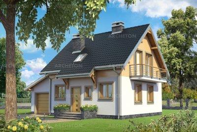 Проект дома Смычок Бета