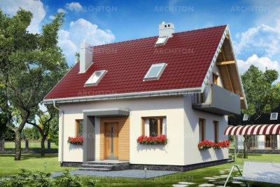Проект дома Смычок Нео